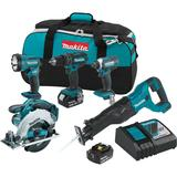 18 Volt LXT Lithium-Ion Cordless Combo Kit (5-Tool)