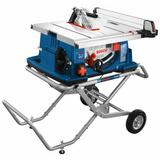 10 In. Worksite Table Saw with Gravity-Rise Wheeled Stand
