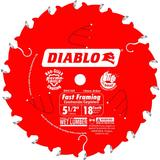 5-1/2 in x 18 Tooth Fast Framing Trim Saw Blade