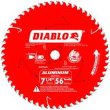 7-1/4 in x 56 Tooth Thick Aluminum Cutting Saw Blade