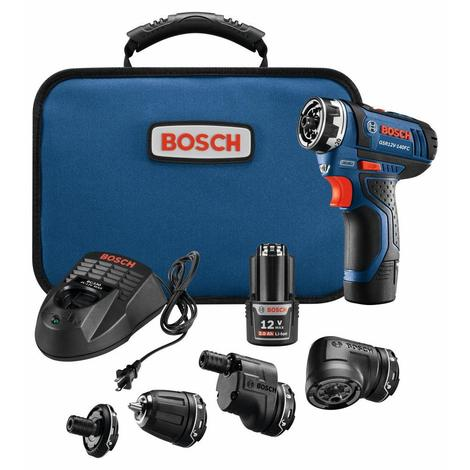 12V Max Flexiclick® 5-In-1 Drill/Driver System