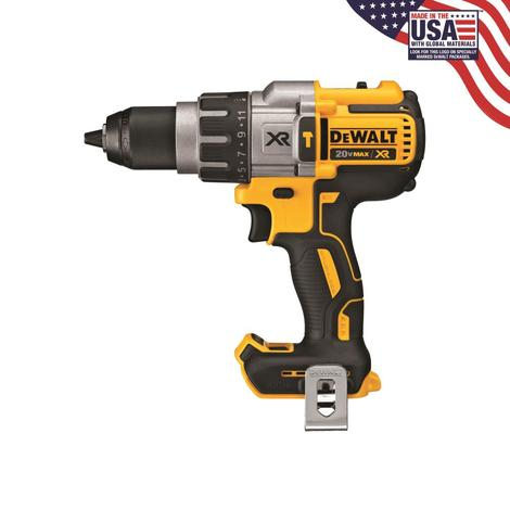 DCD996B - 20V MAX XR® BRUSHLESS LITHIUM ION 3 SPEED HAMMERDRILL (TOOL ONLY)