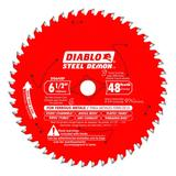 6-1/2 in x 48 Tooth Steel Demon Metal Cutting Saw Blade