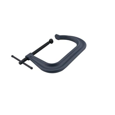 4400 Series Forged C-Clamp - Extra Deep-Throat, Regular-Duty, 0 In