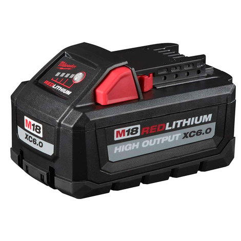 *Open Box Item*  M18™ REDLITHIUM™ HIGH OUTPUT™ XC 6.0Ah Battery Pack