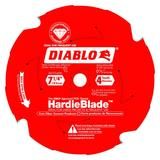 7-1/4 in x 4 Tooth (PCD) Fiber Cement HardieBlade
