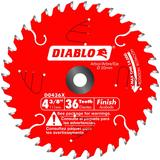 4-3/8 in x 36 Tooth Finish Trim Saw Blade