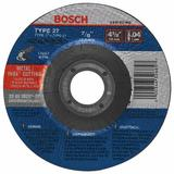 4-1/2 In. .045 In. 7/8 In. Arbor Type 27A (ISO 42) 60 Grit Rapido™ Fast Fast Metal/Stainless Cutting Abrasive Wheel