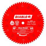10 in x 60 Tooth Fine Finish Saw Blade