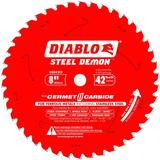 8 in x 42 Tooth Steel Demon Cermet Metal and Stainless Steel Cutting Saw Blade