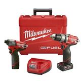 M12 FUEL™ Hammer Drill/Impact Kit-Reconditioned