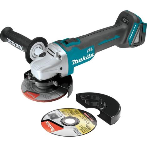 "18V LXT Lithium-Ion Brushless Cordless 4-1/2"" / 5"" Cut-Off/Angle Grinder, Tool Only"