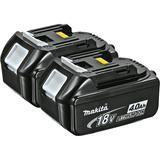 18V LXT® Lithium-Ion 4.0 Ah Battery, 2/pk
