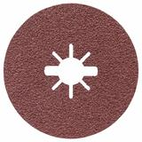 25 pc. 4-1/2 In. 36 Grit X-LOCK Coarse Grit Abrasive Fiber Discs