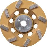 4-1/2 in. Turbo 8 Segment Diamond Cup Wheel, Anti-Vibration
