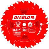 8 to 8-1/4 in x 24 Tooth Framing Saw Blade
