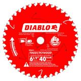 6-1/2 in x 40 Tooth Finish Trim Saw Blade