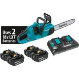 "18V X2 (36V) LXT® Lithium-Ion Brushless Cordless 14"" Chain Saw Kit with 4 Batteries (5.0Ah)"