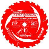 7-1/4 in x 24 Tooth Demo Demon Ultimate Framing/Demolition Saw Blade