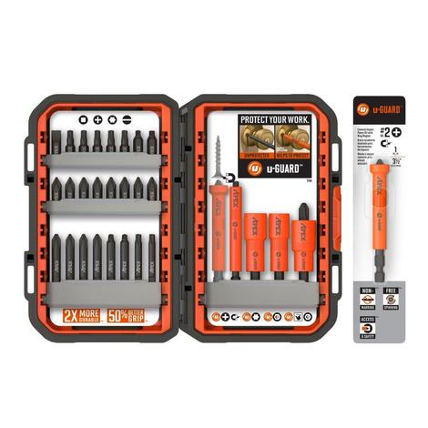 30 piece U-Guard Fastening Set