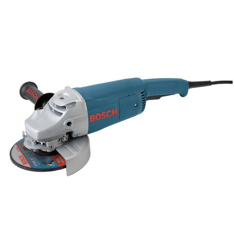 7 In. 15 A Large Angle Grinder with Rat Tail Handle