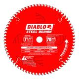 7-1/4 in x 70 Tooth Steel Demon Metal Cutting Saw Blade