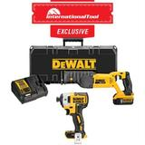 *International Tool Exclusive* 20V MAX Lith-Ion Reciprocating Saw Kit with DCF887B Impact Driver (Bare)