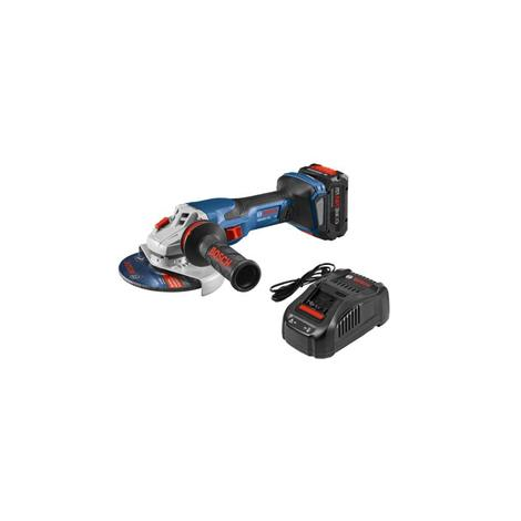 PROFACTOR 18V Spitfire Connected-Ready 5-6 In Angle Grinder Kit w/ CORE18V 8.0Ah Battery