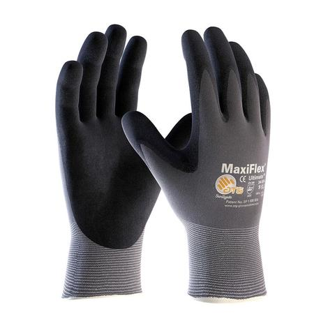 MaxiFlex Ultimate, 15G Gry. Nylon Shell, Blk. MicroFoam Coating